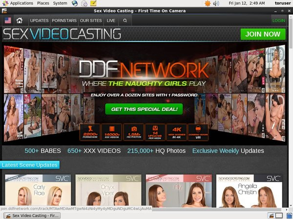 Discount Sexvideocasting Membership