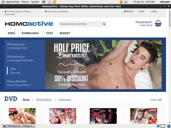 Free Homoactive.com Accounts