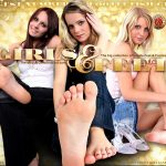 Girls And Feet 신용 카드