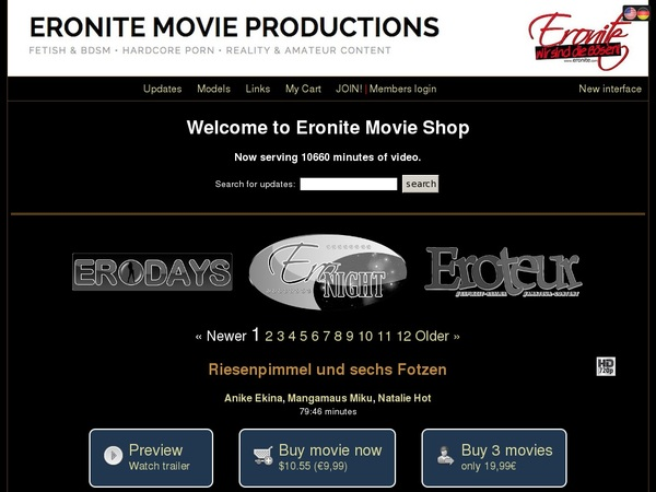 Eronitemovies Discount Account