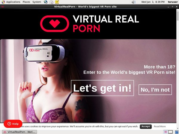 Virtual Real Porn New Account