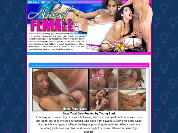 Almostfemale Home Page
