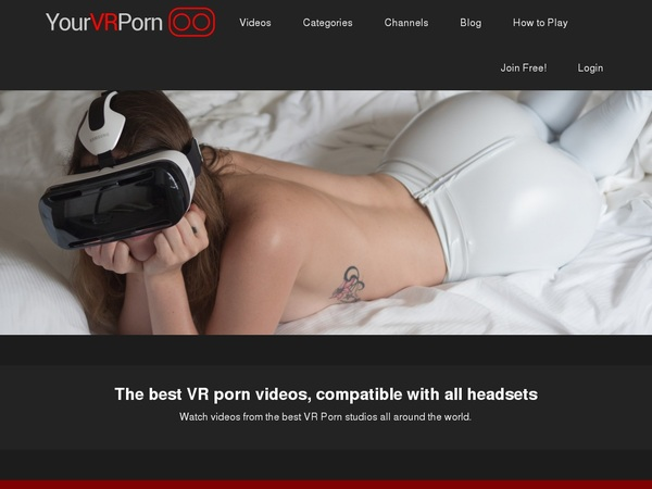 Yourvrporn Sign Up Again