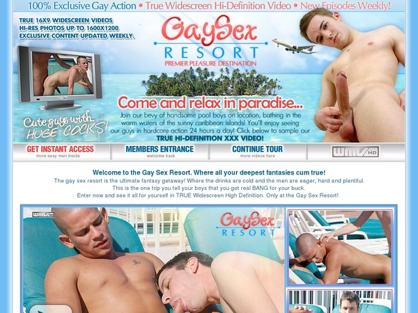Gaysexresort User Pass
