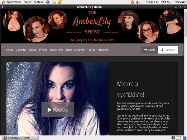 Amberlilyshow.com Free Collection