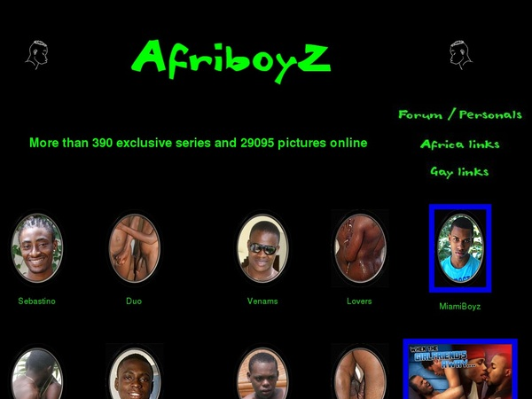 Free Afri BoyZ Subscription