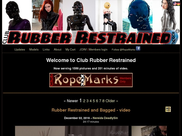 Club Rubber Restrained With AOL Account